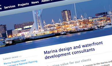 Part of Marina Projects home page